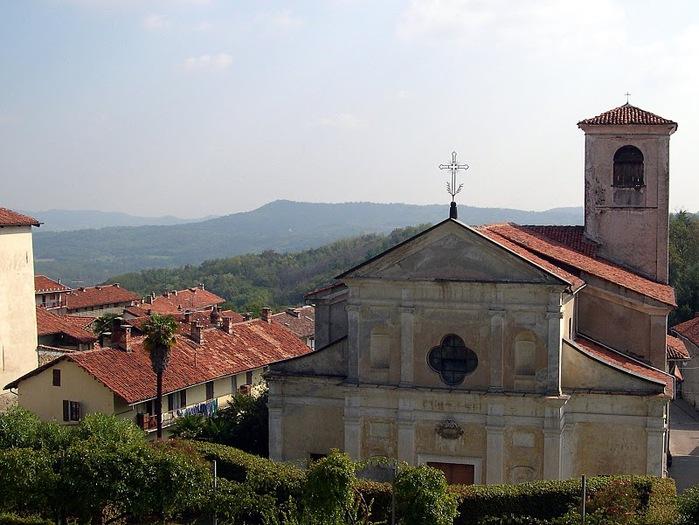 Замок г. Мазино - Castello di Masino, Italia 38920