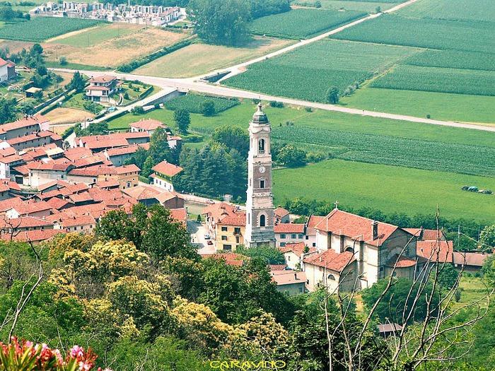 Замок г. Мазино - Castello di Masino, Italia 91735