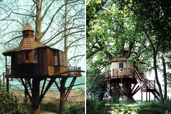 creative ideas: treehouse from amazon tree houses.