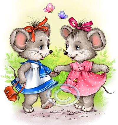 а я думаю, куда ты подевалась... я тебе там столько мышей нашла, ты даже еще не смотрела, после экзаменов заходи...