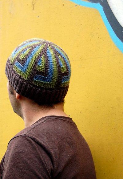 Гулюза. мужская шапка. tanya-vamp0810.  Вязание для мужчин.