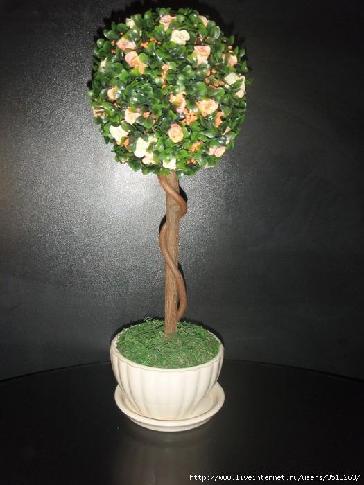 Шар дерево своими руками