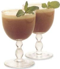 Вместо прохладительного летнего напитка...  На 2 порции: 100 мл бурбона...
