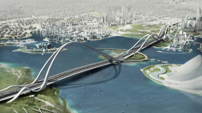 Самый длинный Арочный Мост построят в Дубай.