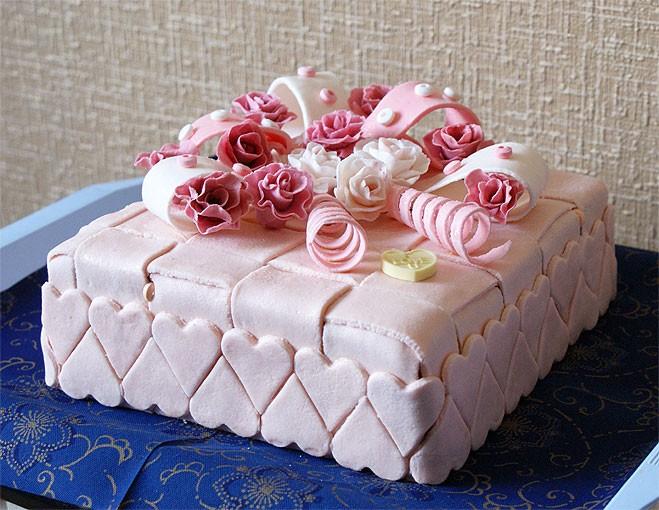 Как сделать красивый торт своими руками фото