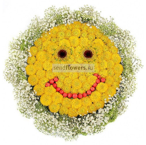 Поделки композиция из цветов