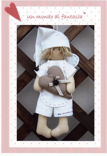 Мягкая игрушка ангела своими руками