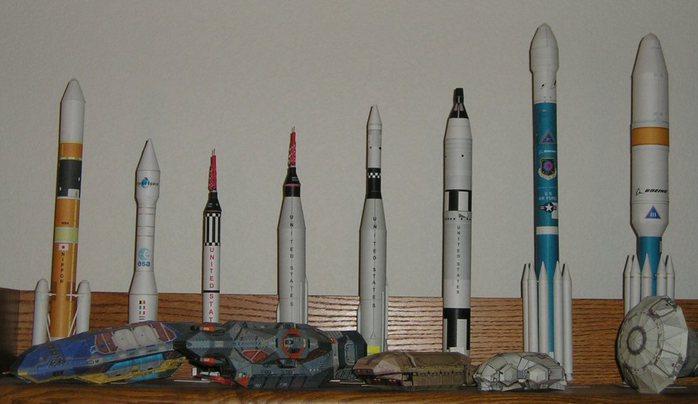 Ракета восток 1 своими руками