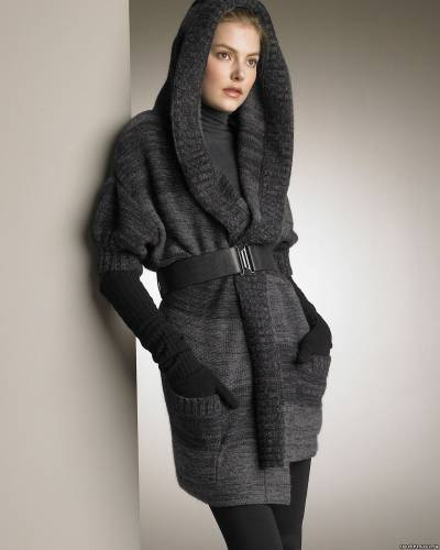 Длинные жакеты, пальто