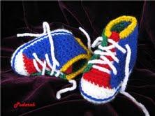 Вязание Крючком Детские Тапочки Босоножки Самые Простые Легкие