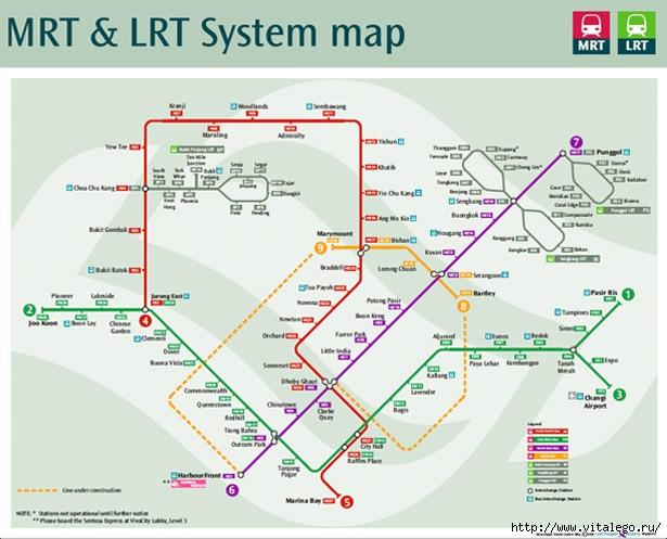 Дизайнерские находки со всего света: схемы линий метро.