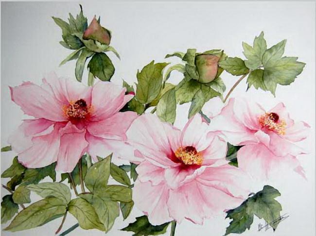 Полевые цветы в живописи картинки 8