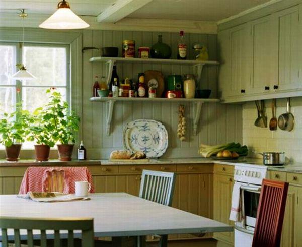 Кухня КАНТРИ - Стеклянные столы для.