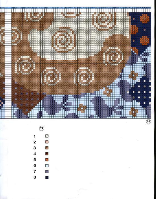 2303 Бесплатные схемы вышивки