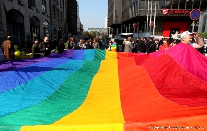 беспорядки на параде геев: