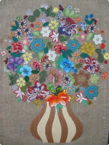 Цветы из ткани своими руками аппликация