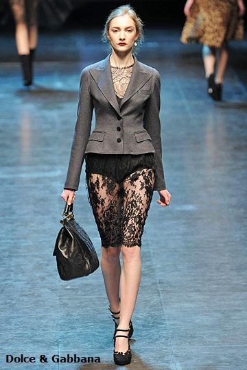 Девушки просто собрали тенденции моды 2011 года в кучу.
