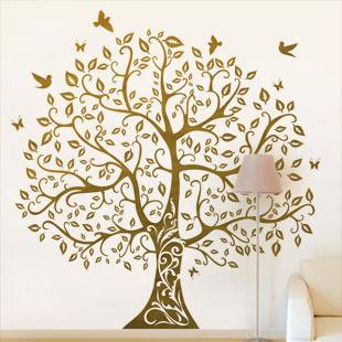 Интерьерные наклейки_Большое дерево