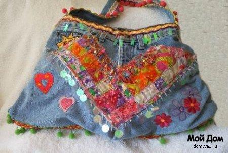 Реклама в блоге. получить справки...  Более 40 сумок из джинс.идеи.