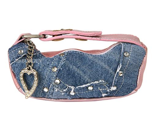 как украсить сумку джинсой.