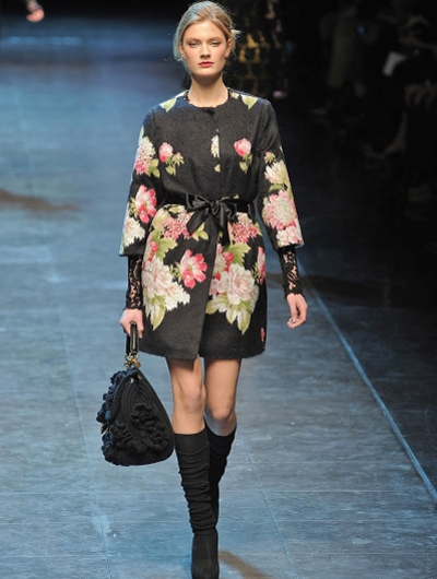 Модное зимнее пальто 2011(