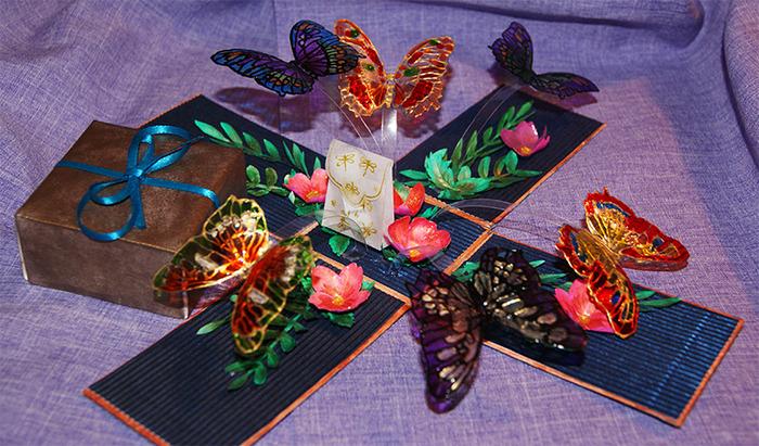 Коробочка своими руками для бабочки 427