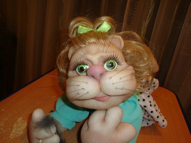 Родилась я на Украине. . С тех пор текстильная кукла в скульптурно-чулочно