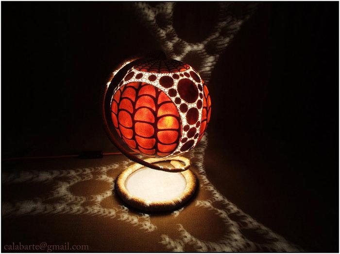 lesorubb - Удивительные лампы из тыкв