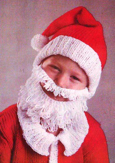 """""""Часть 1 - Вязаные костюмы Деда Мороза и Снегурочки Часть 2. Вязаная маска."""