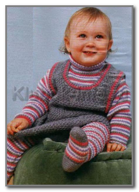 """На нашем женском сайте  """"Дамочка """" Вы в любой момент можете отыскать новость - вязание спицами свитеров девочкам 2 лет..."""
