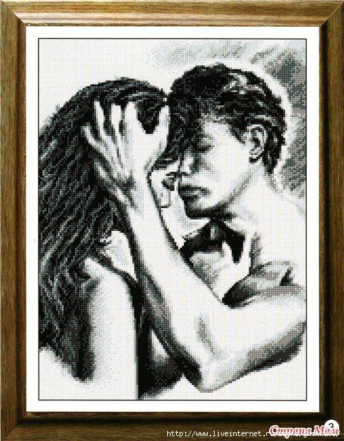 Вышивка крестом мужчина и женщина вышивка 11