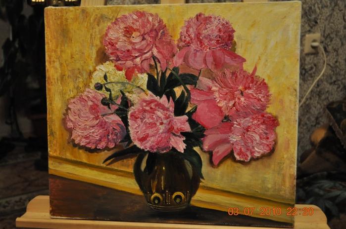 Современная живопись россии цветы