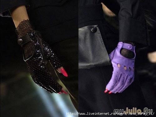 Маникюр перчатки без пальцев