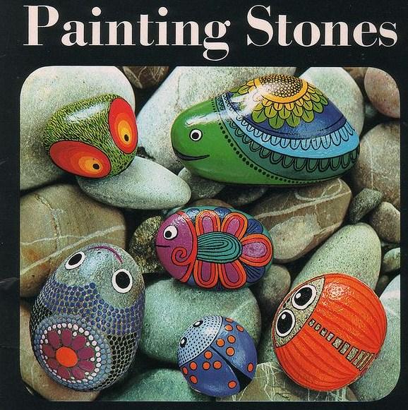 Цветы из камней своими руками