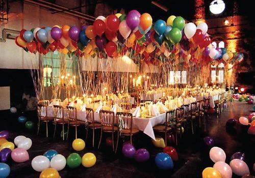 Поздравления с днем рождения на вечеринке в