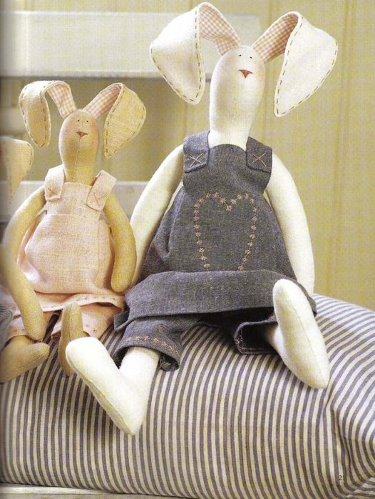 Своими руками тильда заяц
