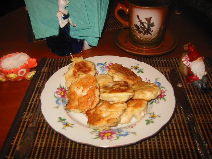 Приготовление в картинках.  Блюда из курицы.  Сегодня я решила сделать на ужин наггетсы куриные!