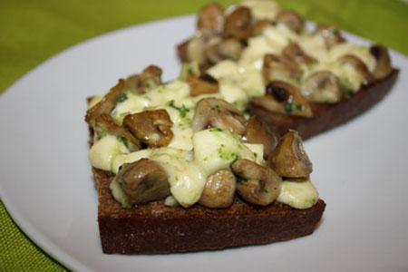 Ингредиенты для рецепта Грибная закуска (2). грибы соленые - 150 грамм помидоры соленые