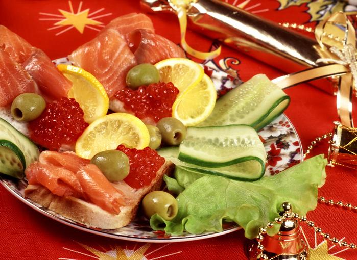 Что из еды нужно на новый год