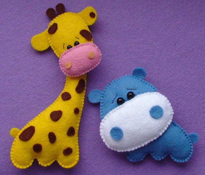 Объемная игрушка своими рука из ткани