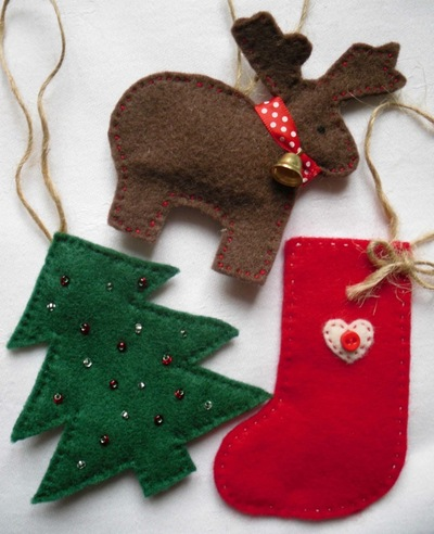Free Christmas Fabric, Textile and Sewing Crafts