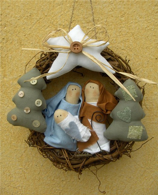 Рождественские сувениры и поделки