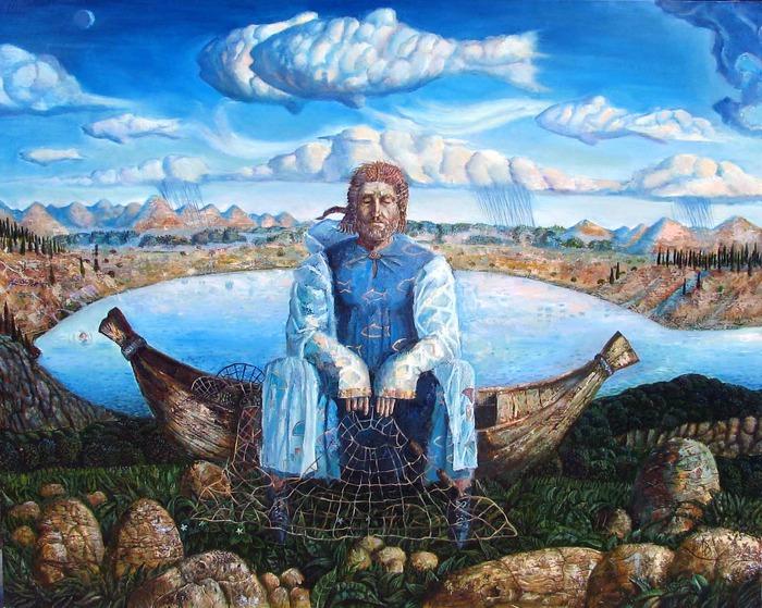 древний рыбак фото