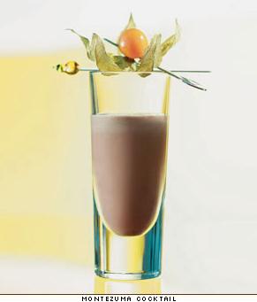 Шоколадный коктейль рецепт приготовления.