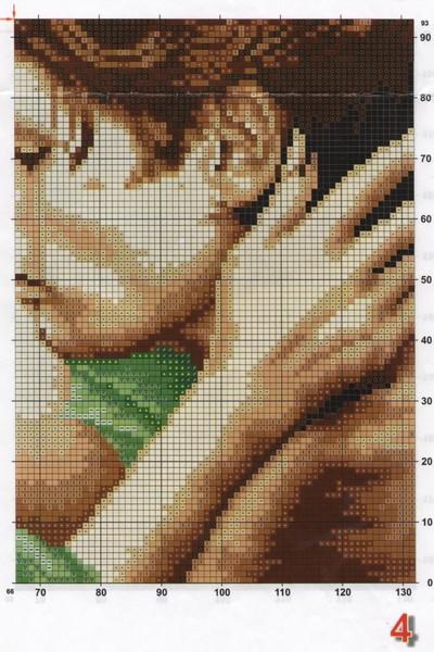 Парень с девушкой, вышивка крестом » Сайт Ручками - делаем 45