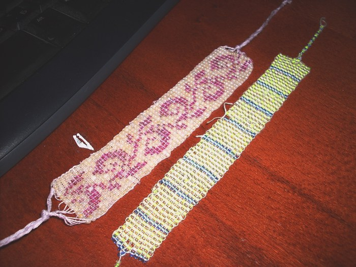 Красивы браслеты своими руками