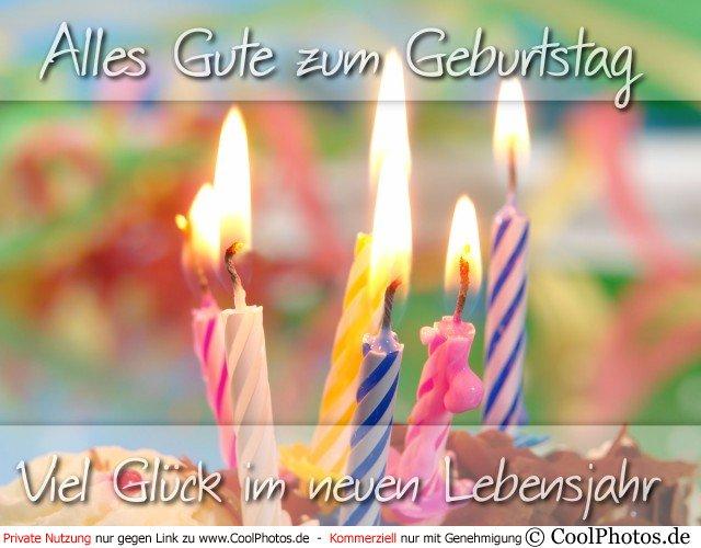 Поздравление ко дню рождения на немецком языке с переводом