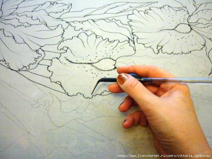 Как нарисовать пейзаш ребенку