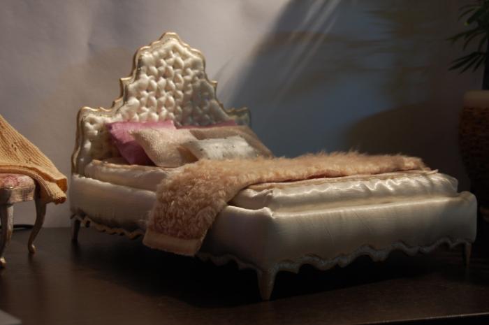 Кровать своими руками для кукол барби