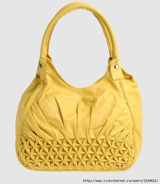 Буфы не так часто используют в изготовлении сумок.  Сумки с буфами выглядят очень женственно, элегантно.